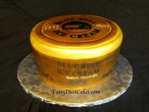 Bluebell clipart ice cream Ice birthday blue Cream cake