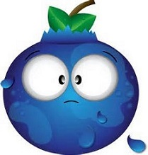Blueberry clipart blackberry fruit Blueberry Blueberry Free Clipart Cartoon
