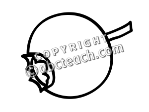 Blueberry clipart black and white Blueberry Free Clipart Clipart Black