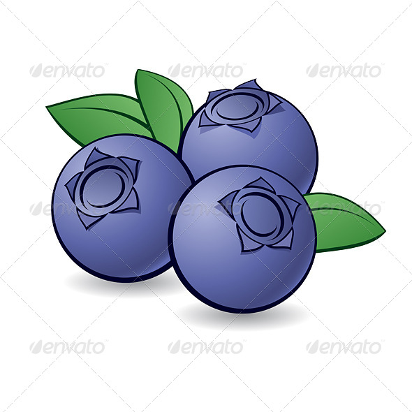 Blueberry clipart blue object Cartoon Objects Blueberry Dvarg Food
