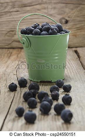 Blueberry clipart bucket A bucket bucket in wood