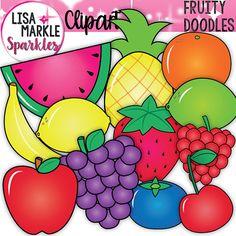 Blueberry clipart bucket Grapes Lime Neon Banana Raspberry
