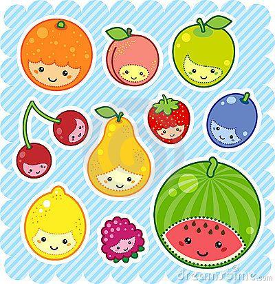 Blueberry clipart cute fruit Kawaii So Google dreamstime for