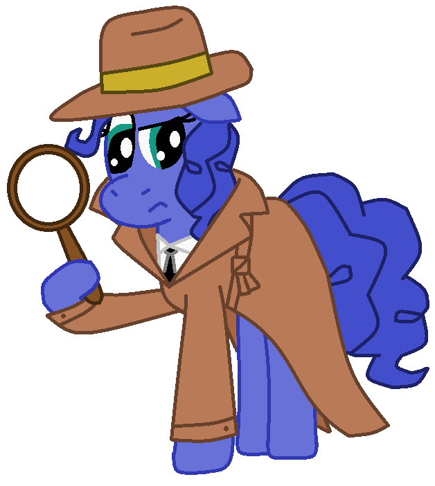 Blueberry clipart eye Detective Pie FreshlyBaked2014 Private Eye