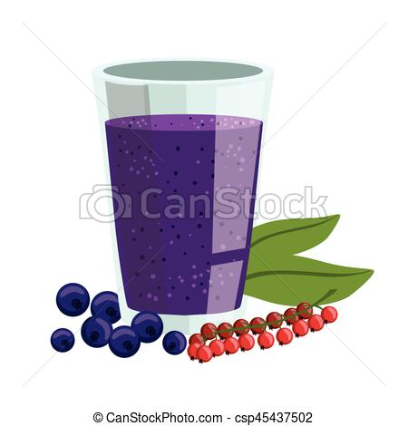 Blueberry clipart fresh Non Vector Smoothie The Red
