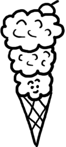 Blueberry clipart popsicle Art Ice Candy House Blueberry