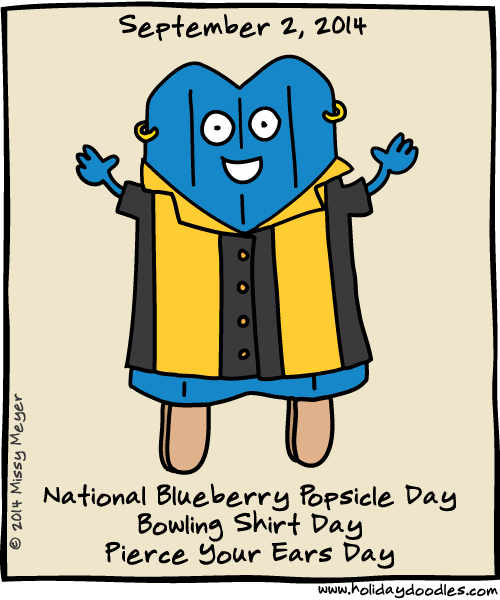 Blueberry clipart popsicle Pinterest Day National Bowling National