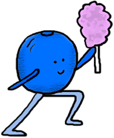 Blueberry clipart single Copy Clip Library And Paste