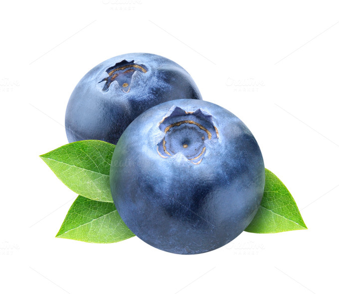 Blueberry clipart transparent Check isolated transparent Blueberry leaves