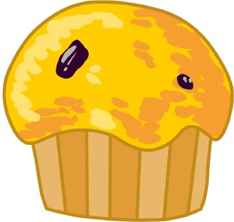 Blueberry Muffin clipart On Clip Clip Art Free