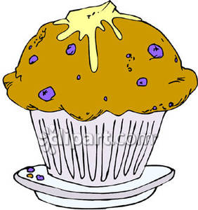 Blueberry Muffin clipart Melting Muffin Clipart Free Free
