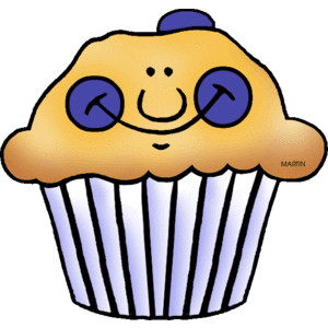 Blueberry clipart blueberry muffin & Pie Muffin clipart Muffin