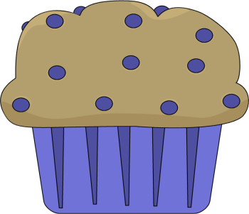 Blueberry Muffin clipart continental breakfast Art Clip Muffin Blueberry Muffin