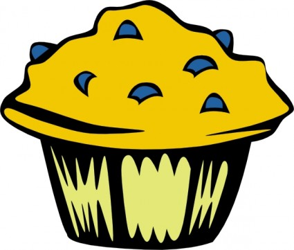 Muffin clipart face Blueberry Clip Muffin Download Muffin