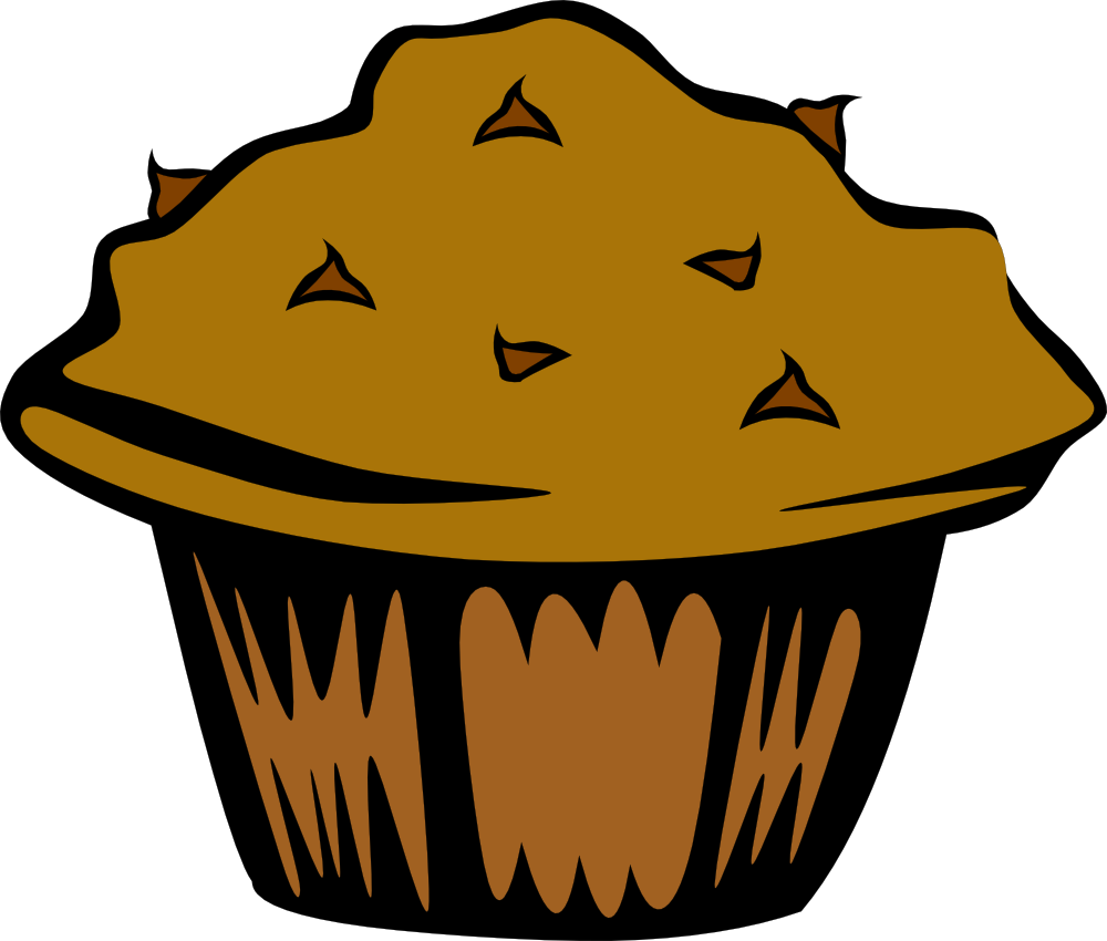 Muffin clipart funny Art on Muffins Art Clipart