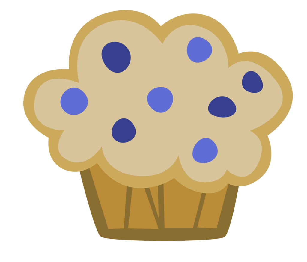 Blueberry clipart blueberry muffin By Mlp DeviantArt on Muffin