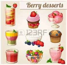 Blueberry Muffin clipart big  Free Royalty vectors Card