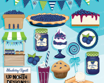Blueberry Muffin clipart blueberry pie Pie Jam muffin Blueberry Blueberry