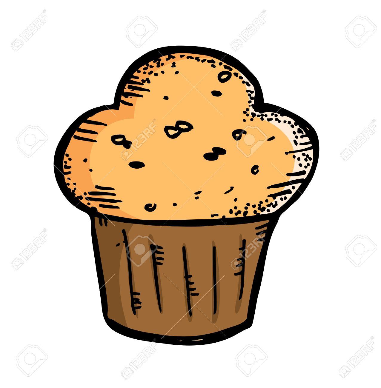 Muffin clipart banana muffin Chocolate Photos Clipart Muffin Stock