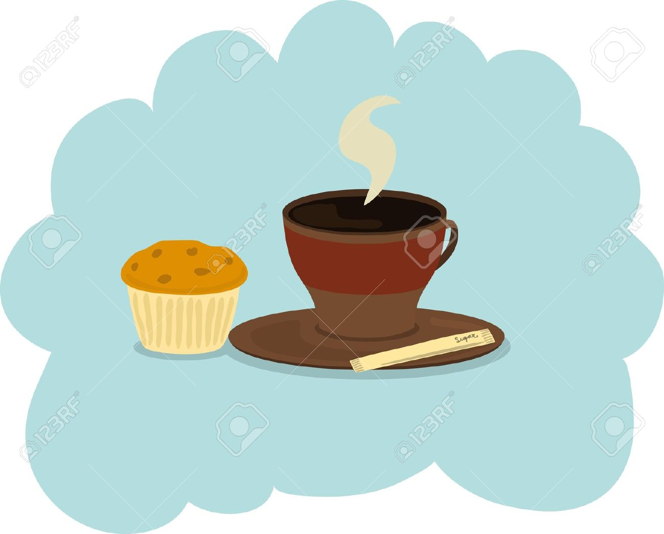 Coffee clipart muffin Coffee And Muffin Clipart cliparts