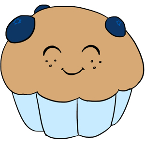 Blueberry Muffin clipart cute An Adorable to Fuzzy flowers