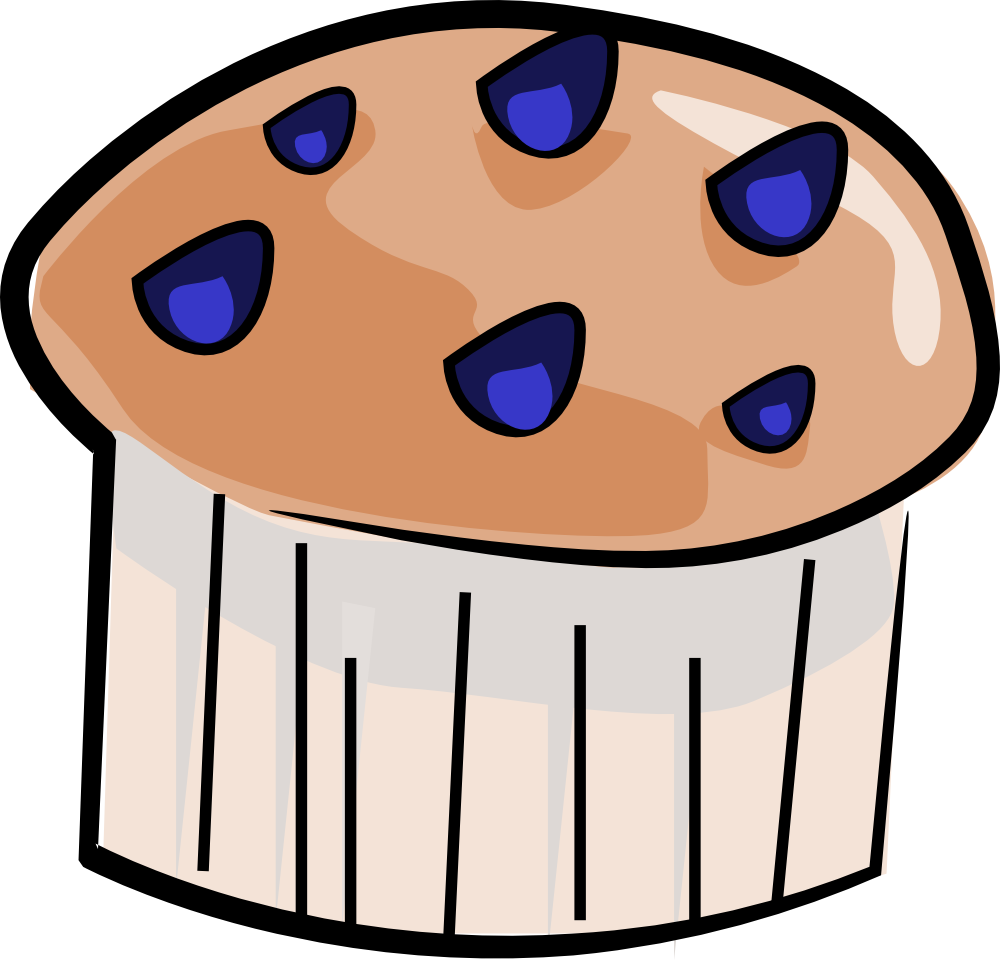 Blueberry Muffin clipart cute Muffin Images (6942) Blueberry —