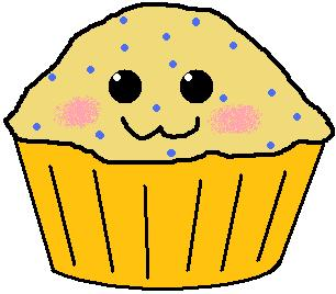 Blueberry Muffin clipart cute By Muffin by DeviantArt Blueberry