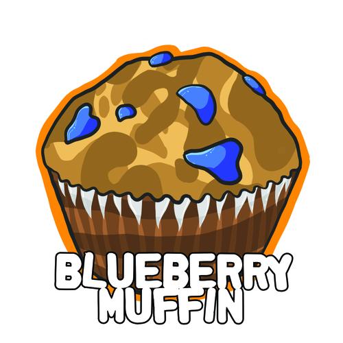 Blueberry Muffin clipart different Blueberry e Aqua e Gorilla