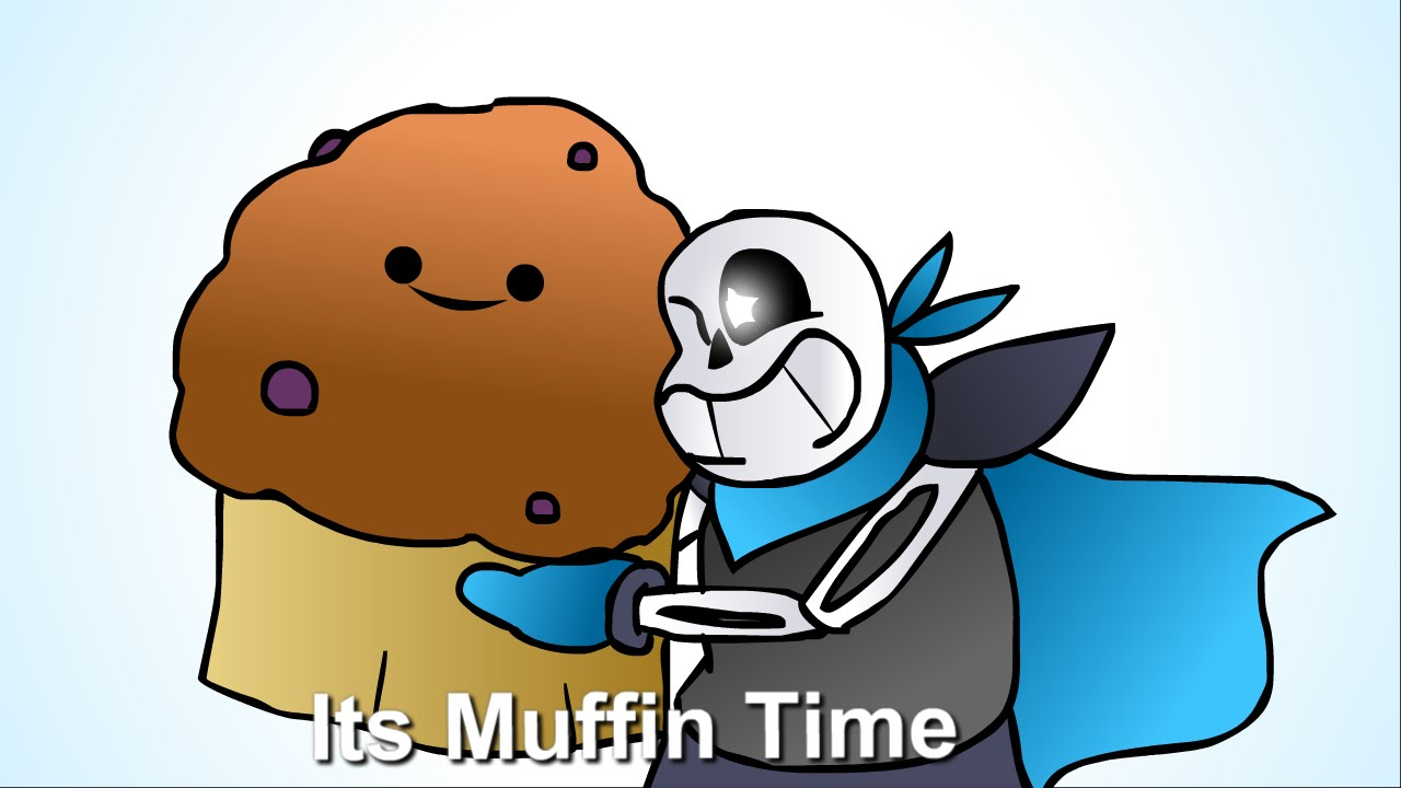 Blueberry Muffin clipart different [UNDERSWAP] Muffin It´s Time!! (Blueberry)