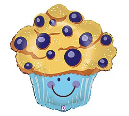 Blueberry Muffin clipart giant Blueberry Birthday Muffin Blueberry party
