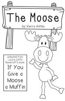 Blueberry Muffin clipart if you give a moose a muffin Book Give a Muffin book