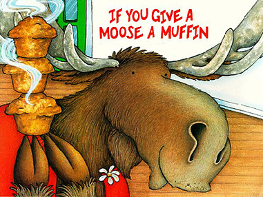 Blueberry Muffin clipart if you give a moose a muffin Moose Tumblr a 2 a