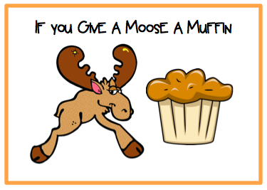 Blueberry Muffin clipart if you give a moose a muffin You Moose A Speech Muffin