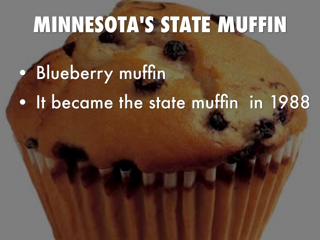Blueberry Muffin clipart minnesota state Blueberry MUFFIN Grace Symbols State