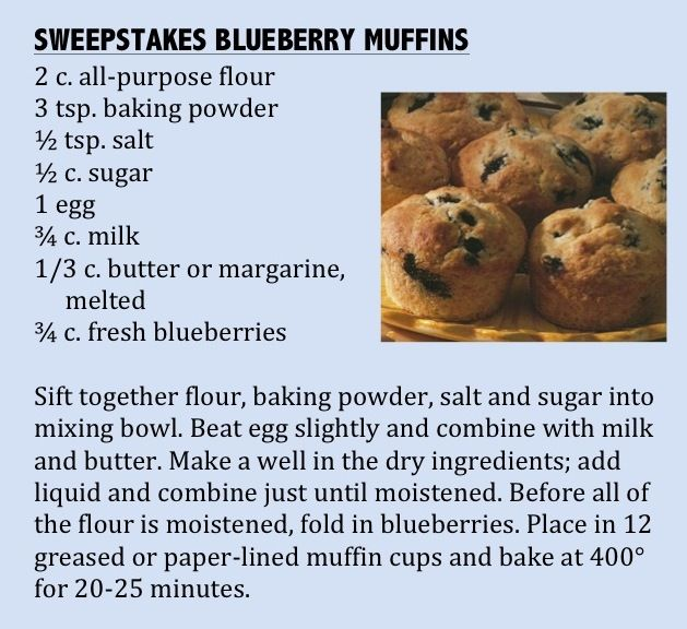 Blueberry Muffin clipart minnesota state Pinterest recipe muffin winner baking
