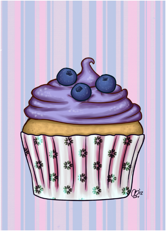 Blueberry Muffin clipart paper Blueberry Blueberry Cupcake Blueberry Blueberry