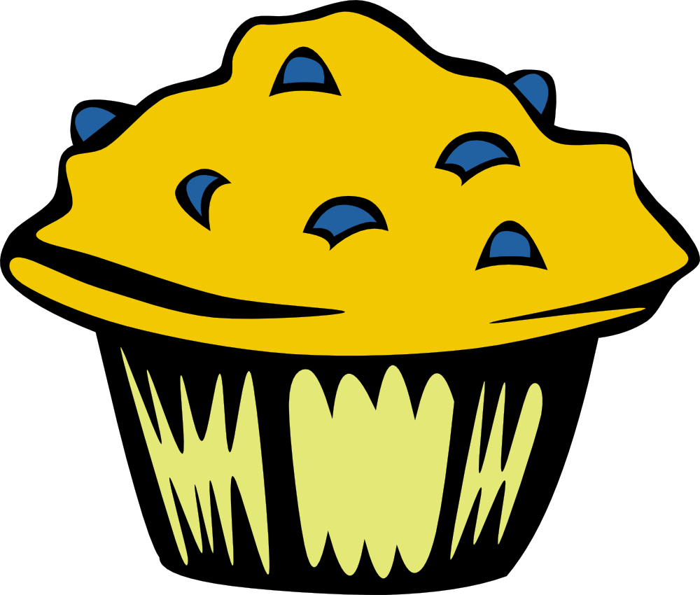 Muffin clipart funny Art Muffin Fast Breakfast Muffin