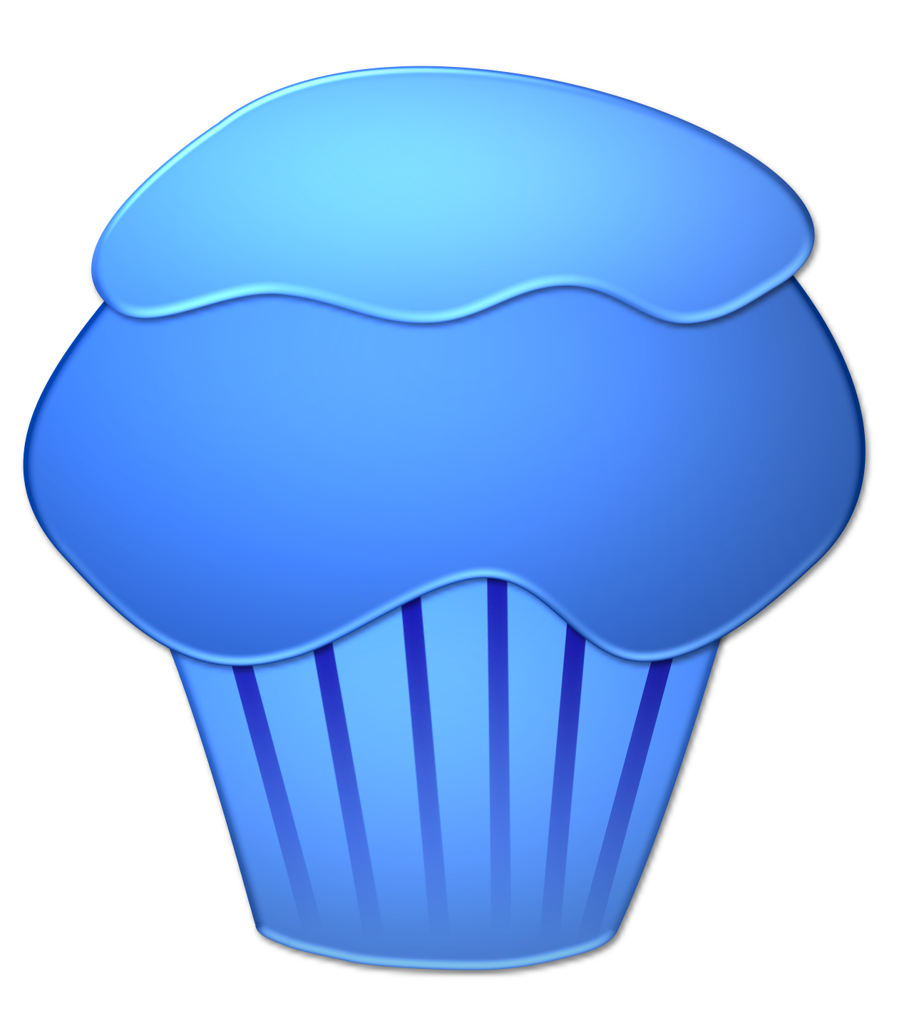 Blueberry Muffin clipart transparent Blueberry Clipart Cupcake Clipart Cupcake