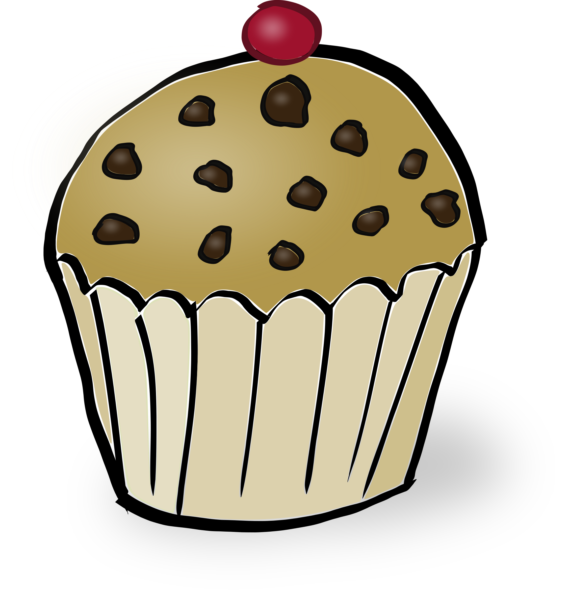 Blueberry Muffin clipart transparent Chips muffin Muffin Chocolate chip