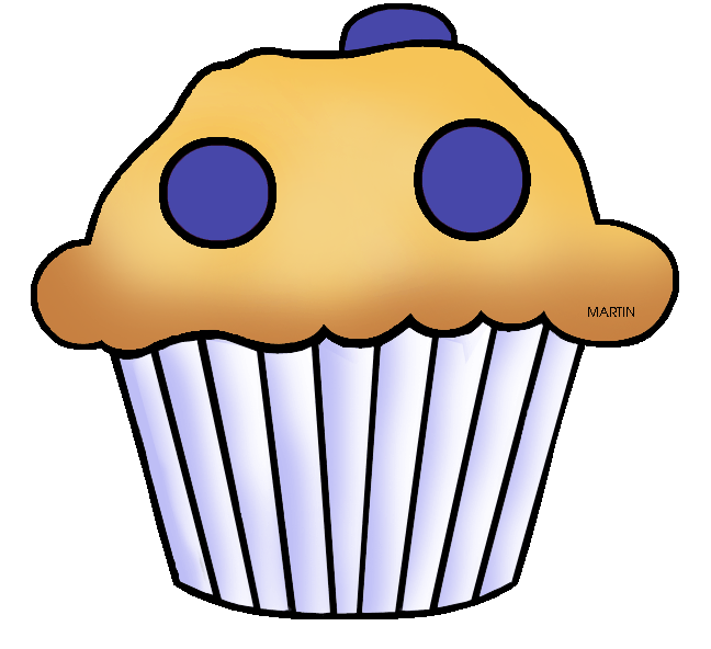 Blueberry Muffin clipart transparent Muffin States  Blueberry Phillip