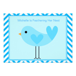 Bluebird clipart baby shower Baby Invitation Bird Announcements &