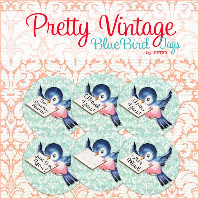 Bluebird clipart early bird On Vintage Ex Bluebird Bluebirds