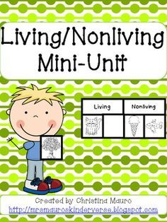 Things Living Living  Nonliving