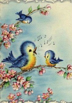 Bluebird clipart spring fun 11 Spies Imágenes amor Nancy