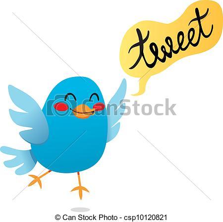 Bluebird clipart tweet Csp10120821 Tweet Blue  Tweet