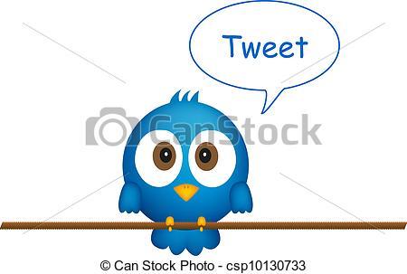 Bluebird clipart tweet Sitting clipart bird Tweet 734
