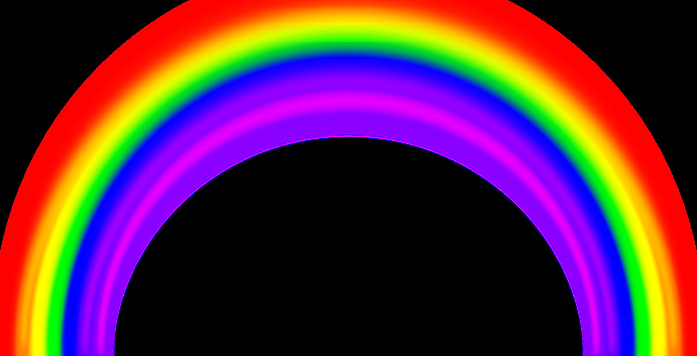 Blur clipart Simple with Rainbow Clipart Blur