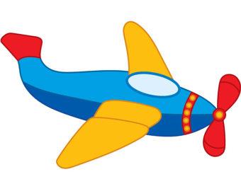 Blur clipart aeroplane Fly Boys Transport Digital Airplane