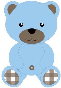 Teddy clipart baby boy Iconos Azul BEAR todo color