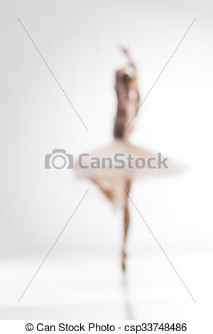 Blur clipart ballerina Of Blurred of on ballerina